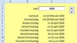 Klok Met Wijzers Excel Tekst En Uitleg
